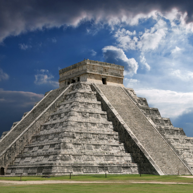 """Chichen-Itza"" stock image"