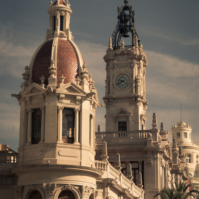 """Glorious architecture in Valencia"" stock image"