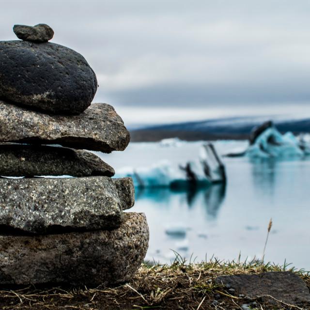 """""""Jökulsárlón, Iceland"""" stock image"""