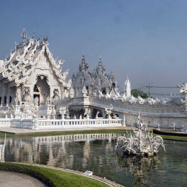 """White Temple Wat Rong Khun, Chiang Rai, Thailand"" stock image"