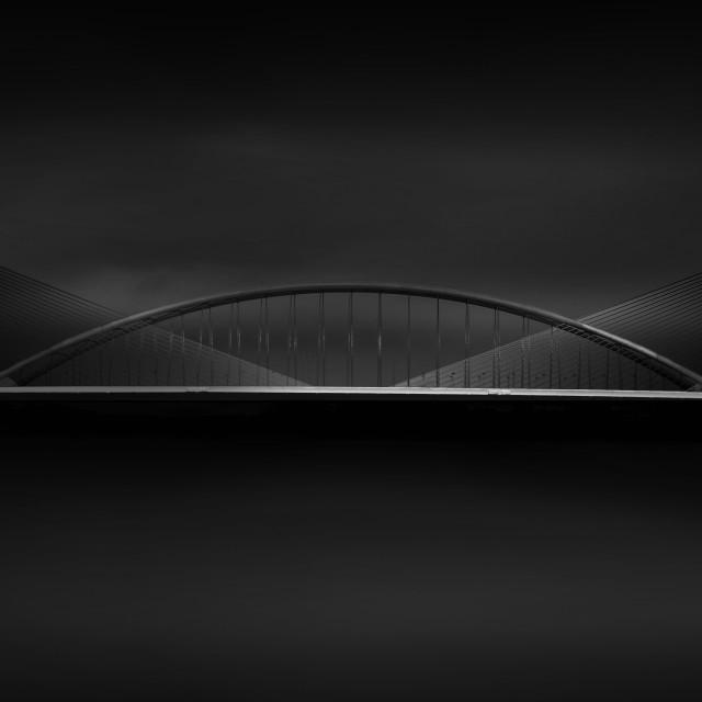 """Smiling Bridge"" stock image"
