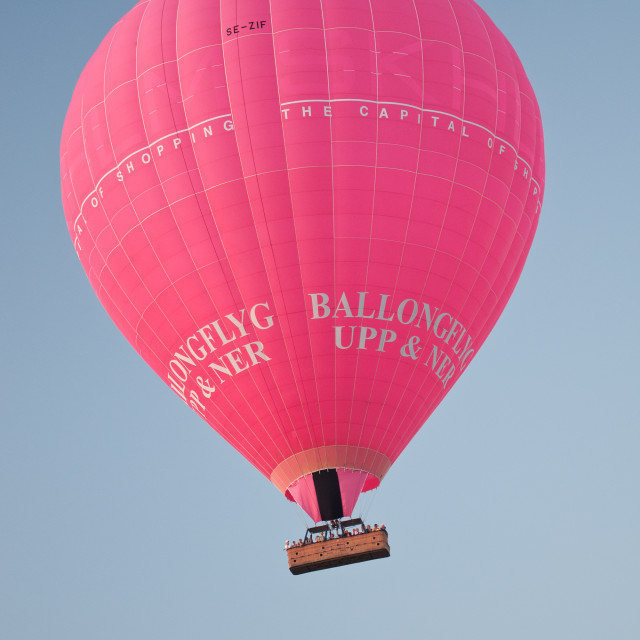 """Pink air balloon"" stock image"