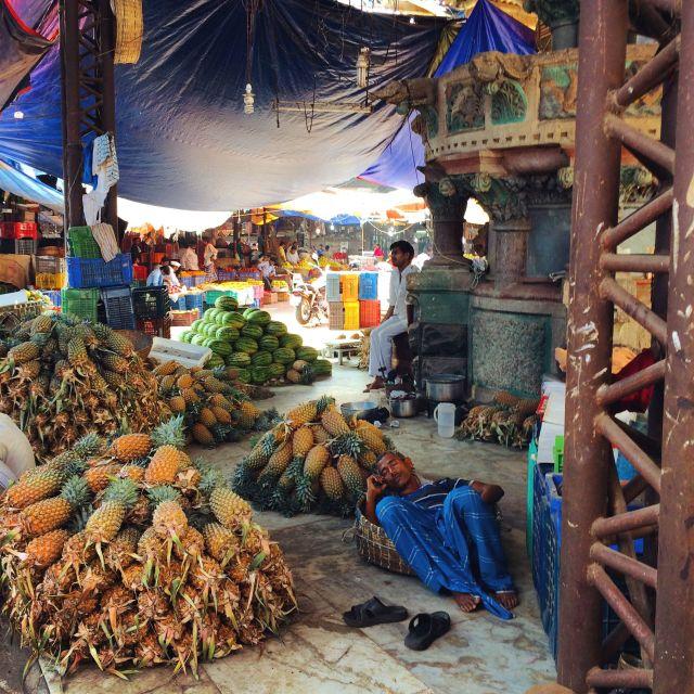 """Mumbai market scene"" stock image"
