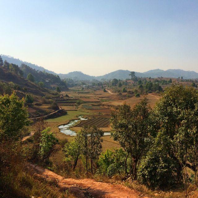 """Myanmar landscape"" stock image"