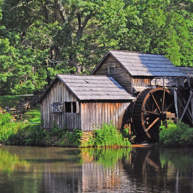 """Mabry Mill in Floyd Virginia"" stock image"