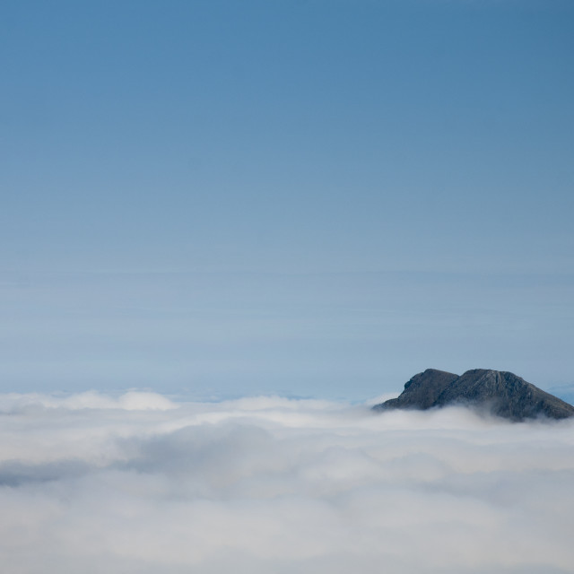"""""""Blaven above the clouds"""" stock image"""