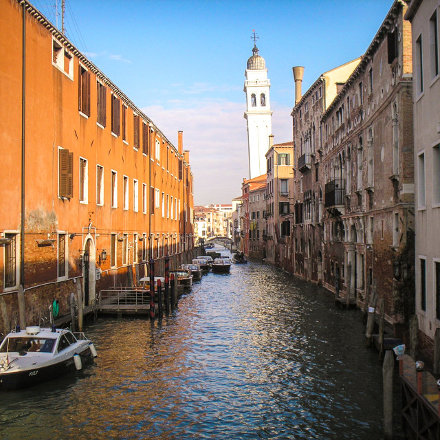 """""""streets of venice"""" stock image"""