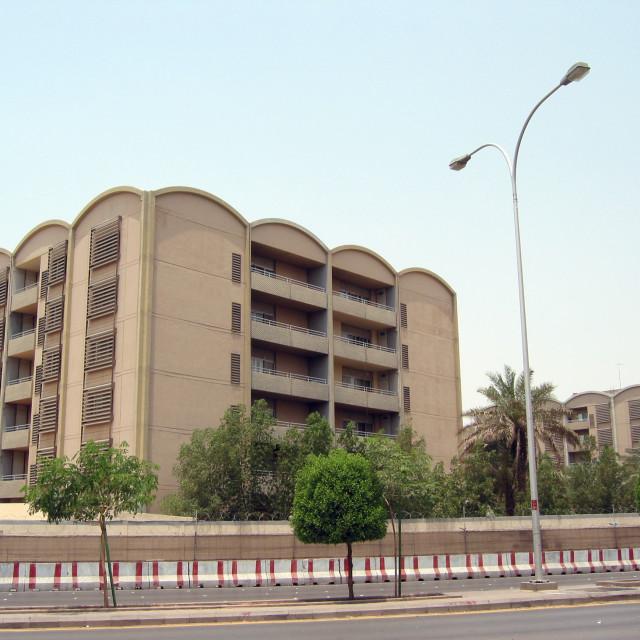 """Residential compound in Er Riyadh, Saudi Arabia"" stock image"