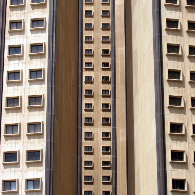 """Modern urban architecture of Er Riyadh"" stock image"