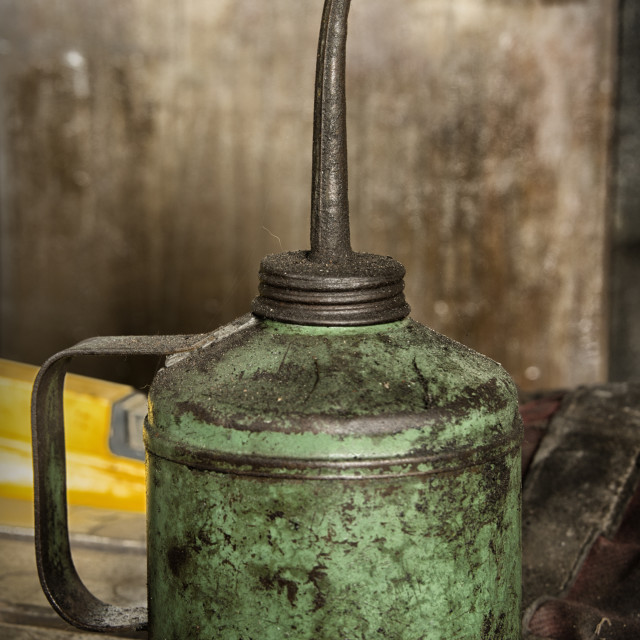 """Oil Can"" stock image"
