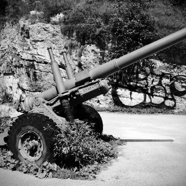"""Artillery"" stock image"
