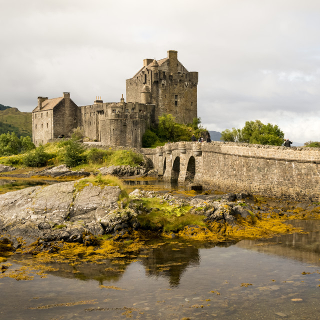 """Eilean Donan Castle 2nd September 2015"" stock image"