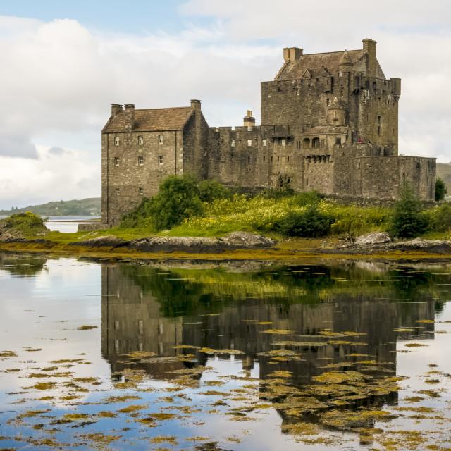 """Eilean Donan Castle 2nd September 2015"" stock image"
