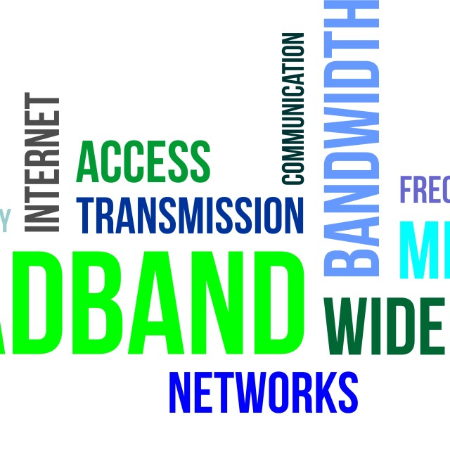 """word cloud - broadband"" stock image"