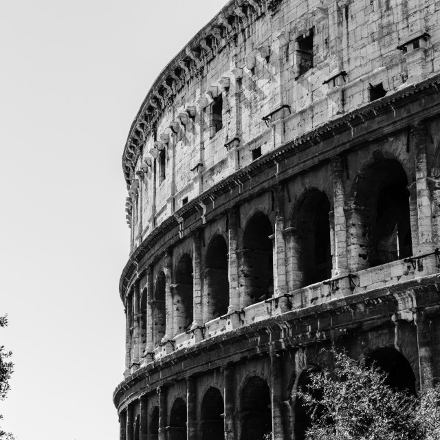 """""""Colosseum of Rome"""" stock image"""
