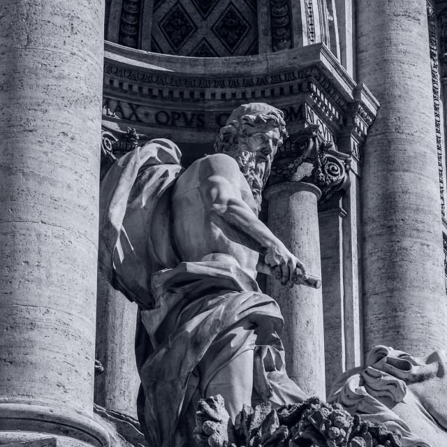 """Rome, Trevi Fountain"" stock image"