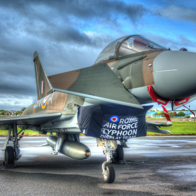 """""""RAF Typhoon"""" stock image"""