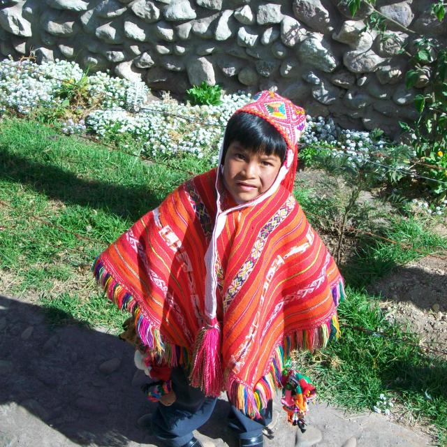 """Altiplano child"" stock image"