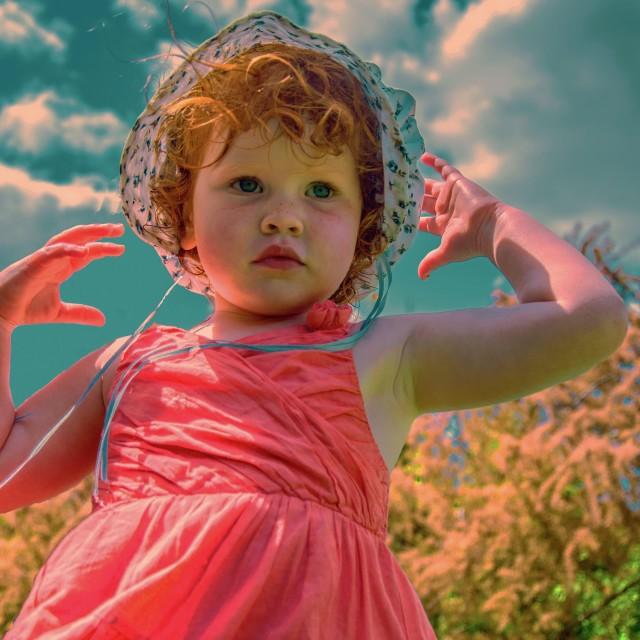 """Little angel"" stock image"