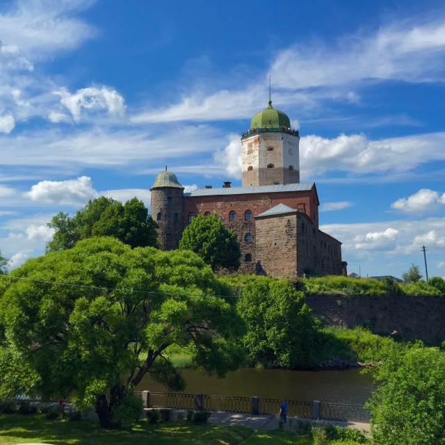"""""""The Middle Ages scandinavian fortification"""" stock image"""