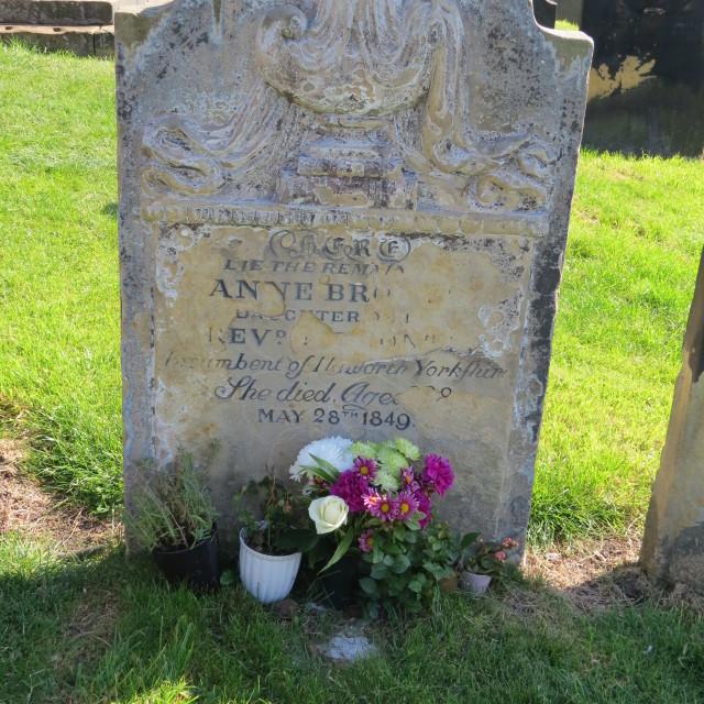 """""""Anne Bronte grave"""" stock image"""