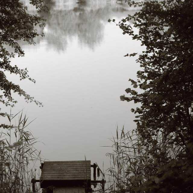 """Open Lake"" stock image"