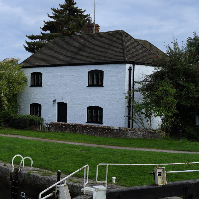 """""""Lock Keepers Cottage"""" stock image"""
