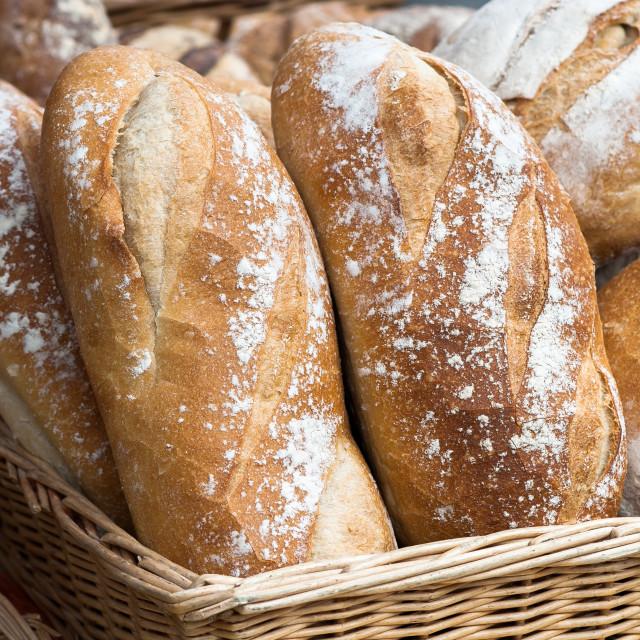"""Fresh Bread"" stock image"