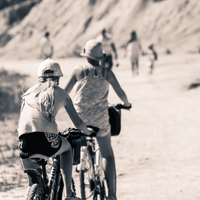 """Cyclingroad"" stock image"