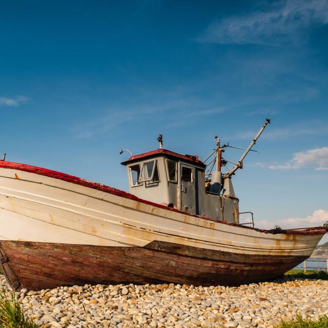 """Fishing boat"" stock image"