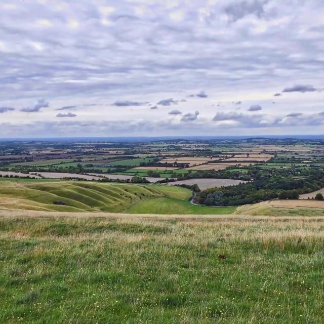 """Berkshire Landscape"" stock image"