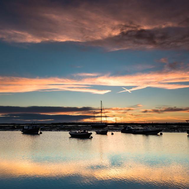 """""""Island Sunset"""" stock image"""