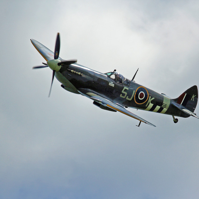 """Spitfire!"" stock image"
