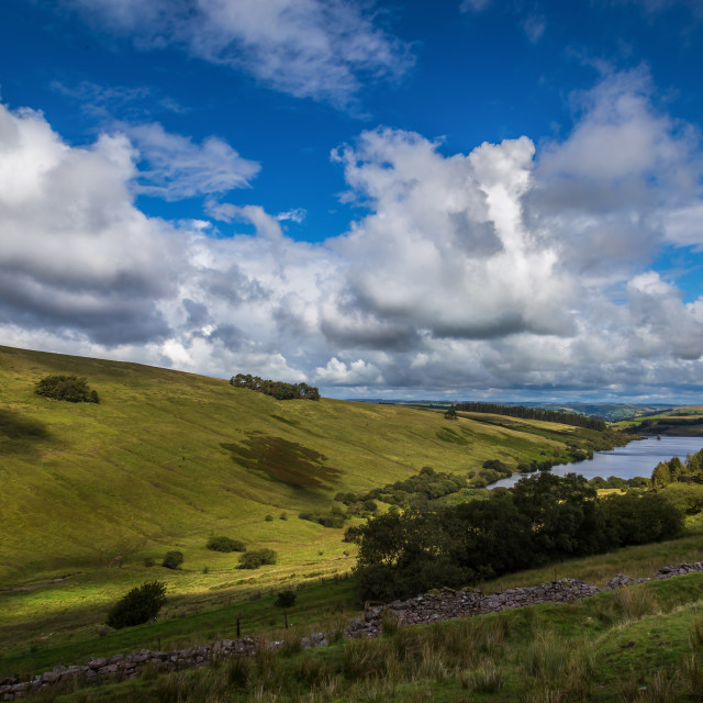 """Cray reservoir"" stock image"