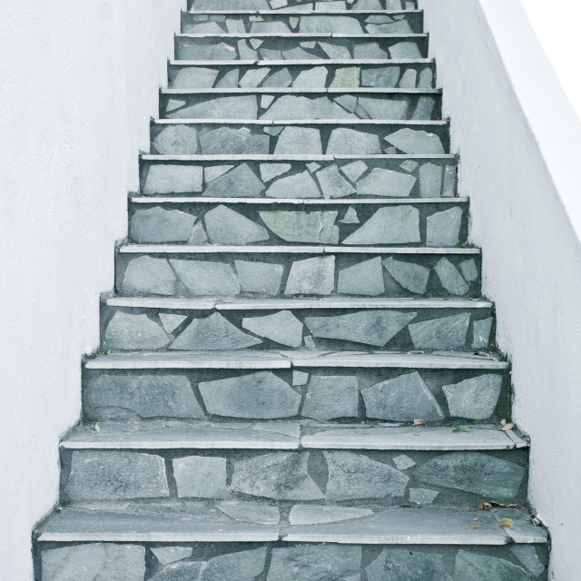 """Stone steps"" stock image"