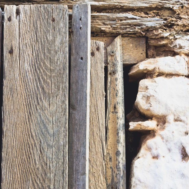 """Old window frame"" stock image"