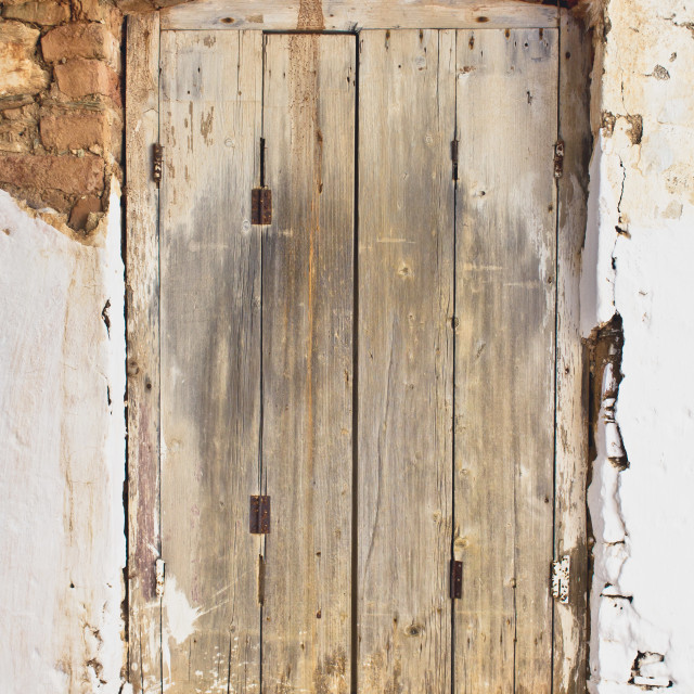 """""""Wooden shutter"""" stock image"""