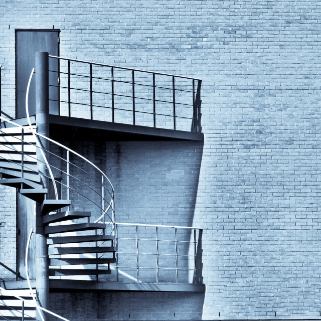"""""""Spiral stairs"""" stock image"""
