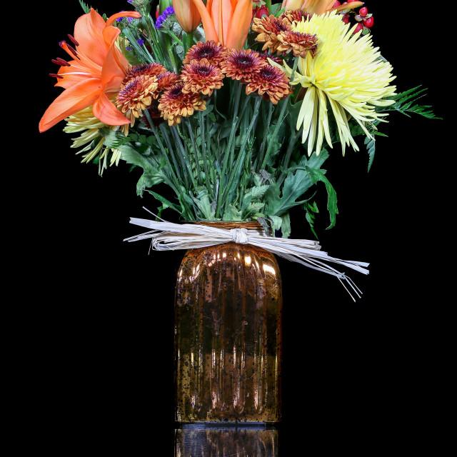 """""""Boquet of Flowers"""" stock image"""