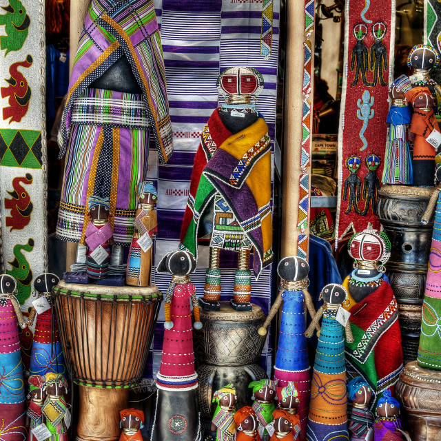 """African Art"" stock image"