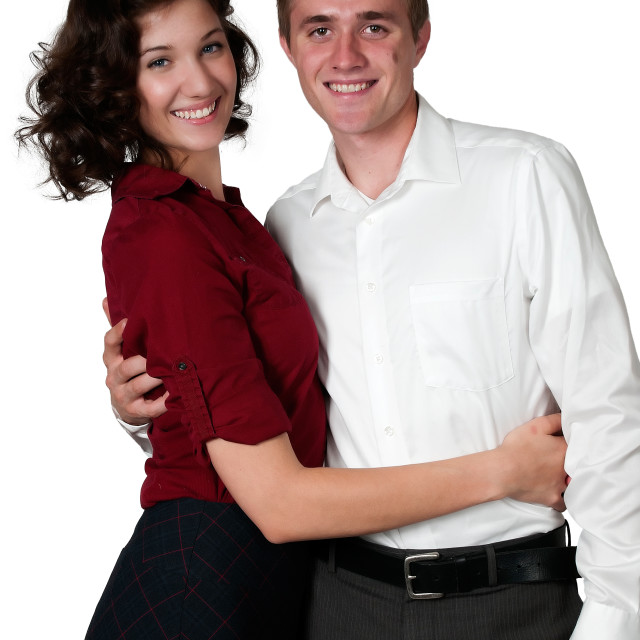 """""""Couple in Love"""" stock image"""