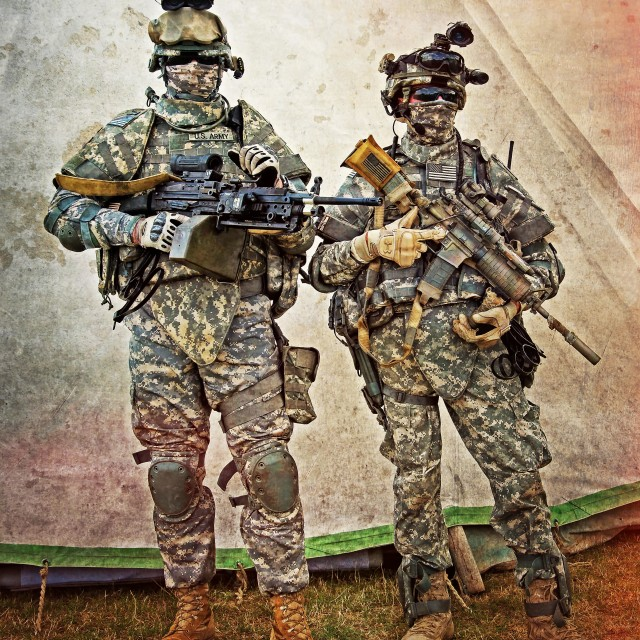 """Special Forces"" stock image"