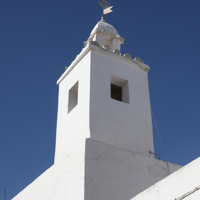 """Tunisia, Sousse mosque"" stock image"