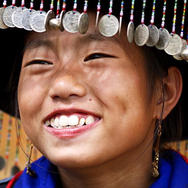 """""""H'Mong smile"""" stock image"""