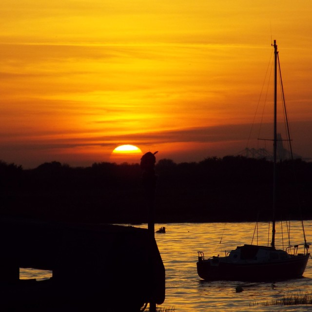 """Sun set"" stock image"