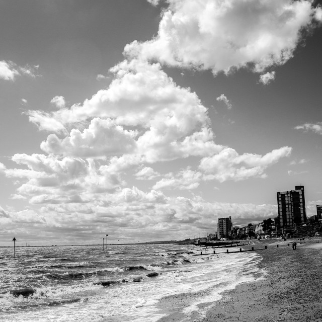"""Southend on sea"" stock image"