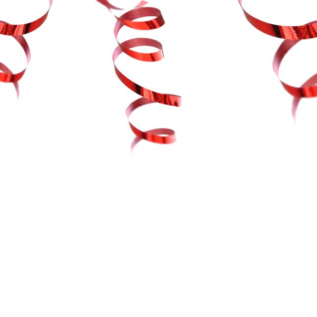 """curling ribbon"" stock image"