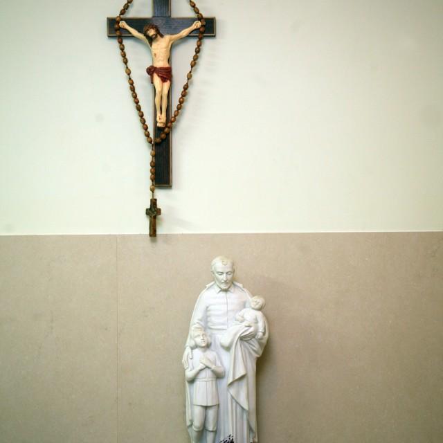 """""""Saint Vincent de Paul"""" stock image"""