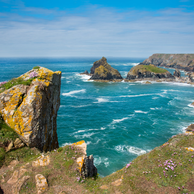 """Kynance Cove, Cornwall"" stock image"