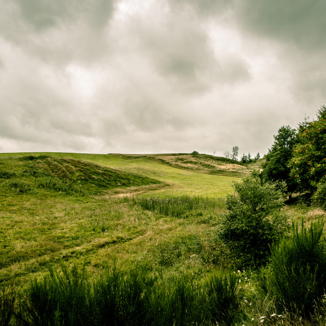 """""""Cloudy nature"""" stock image"""